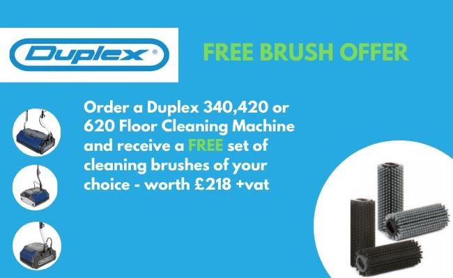Duplex Brush Offer