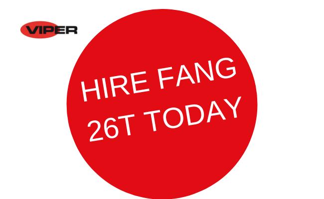 Hire Viper Fang 26T