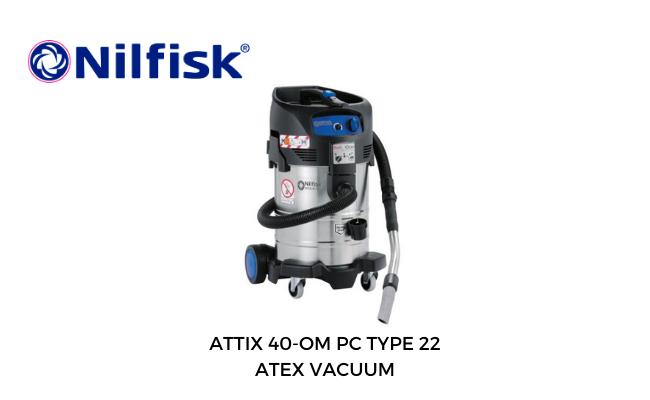 Atex Vacuum Nilfisk Attix 40 OM