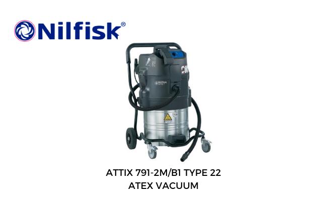 Nilfisk Attix Atex Vacuum 7912/2