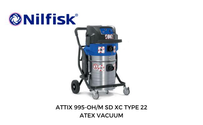 Atex Vacuum | Nilfisk Attix 995