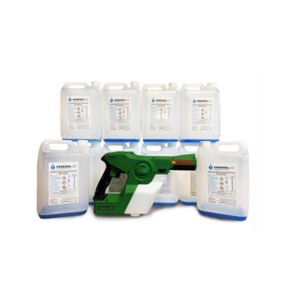 Eco Static Victory Sprayer & Crebisol Bundle